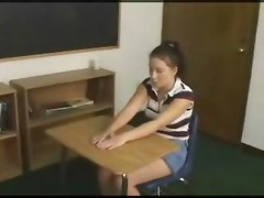 Schoolgirl Gets Anally Punished By Her Teachers Strap On